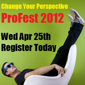 Register today for ProFest2012 http://bit.ly/ProFest2012