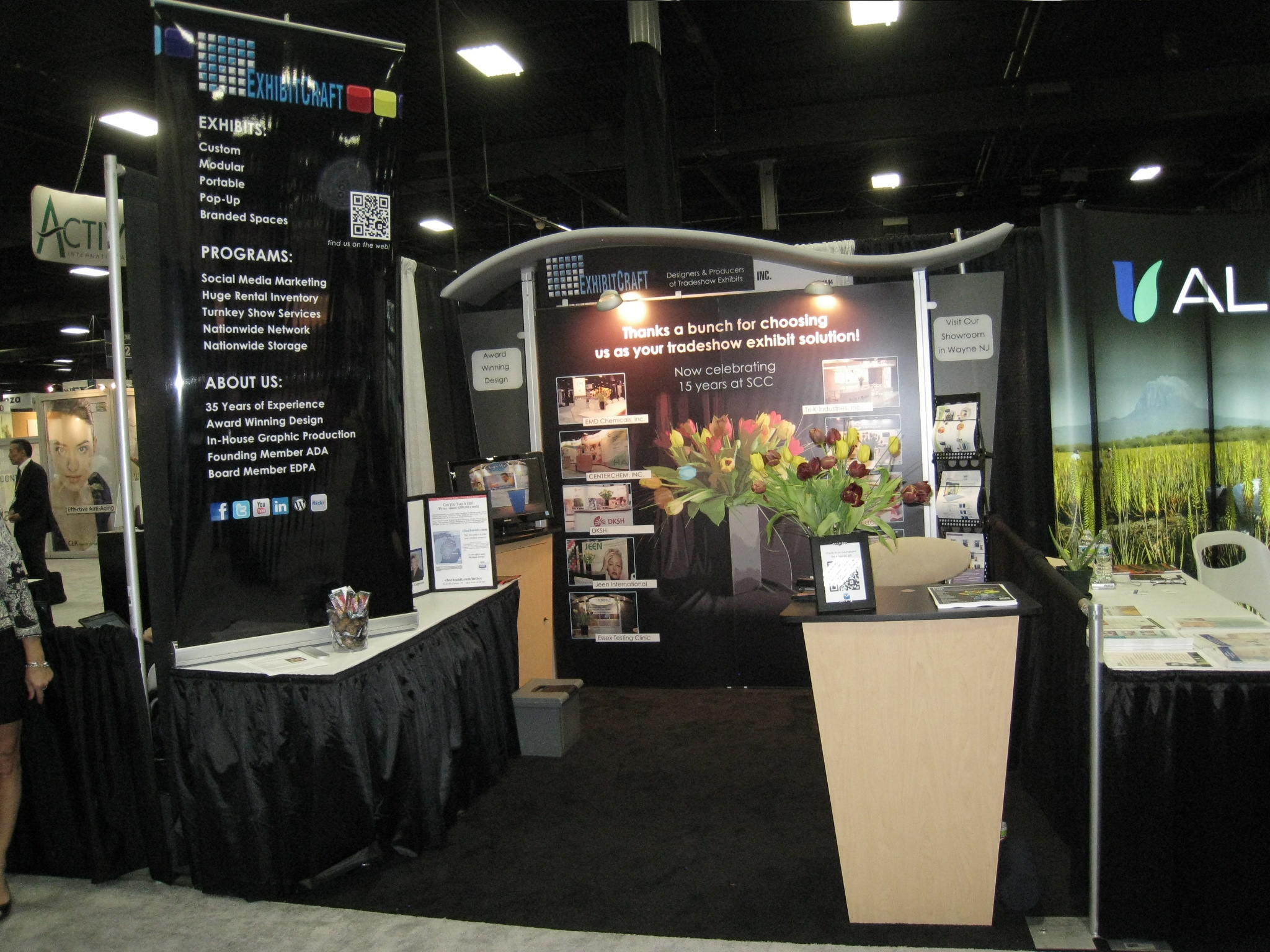 Nj Trade Show Booth : Celebrating years as a trade show exhibit solution at