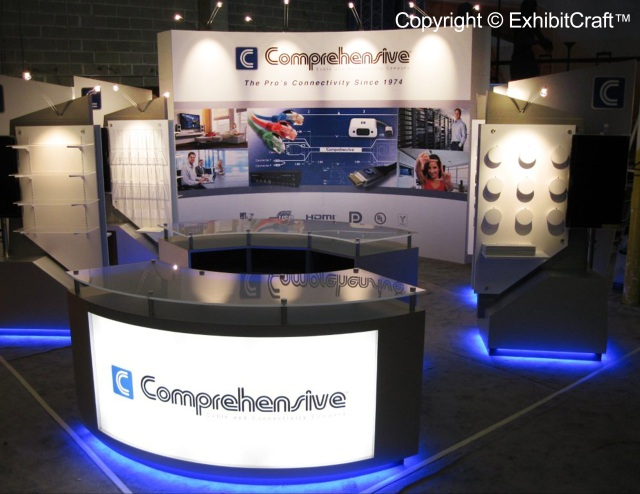 Comprehensive Cable Custom Trade Show Display