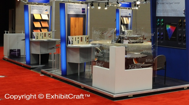EMD Tradeshow Booth Seating Area