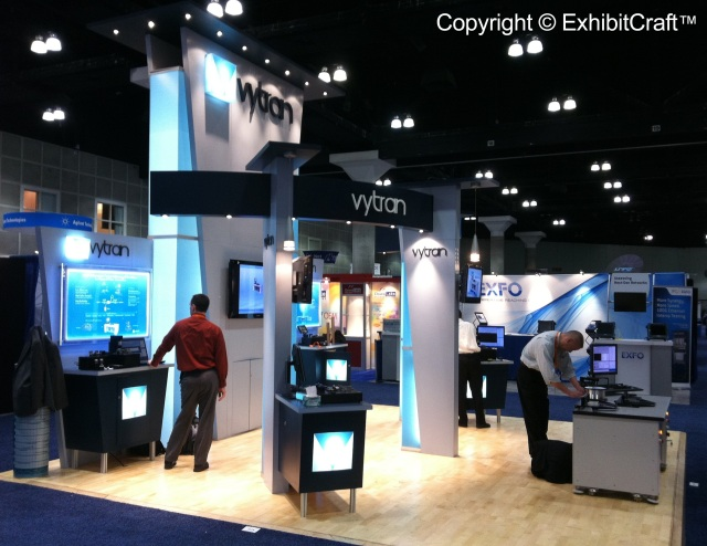 Vytran Trade Show Exhibit Lighting Solution