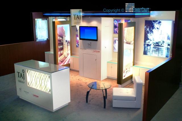 Taj Hotels Custom Trade Show Exhibit | ExhibitCraft of New Jersey