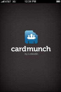 LinkedIn Cardmunch App