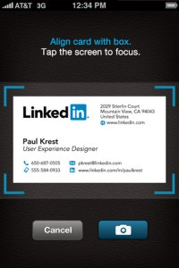 Cardmunch LinkedIn App