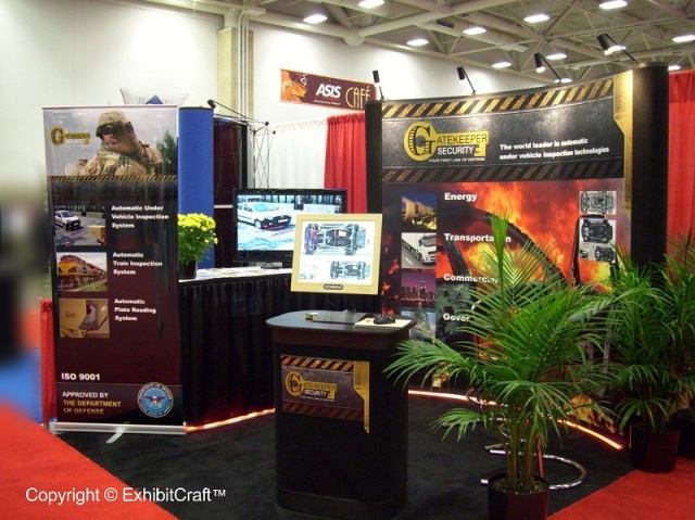 Gatekeeper Security - Security Industry Trade Show Exhibit