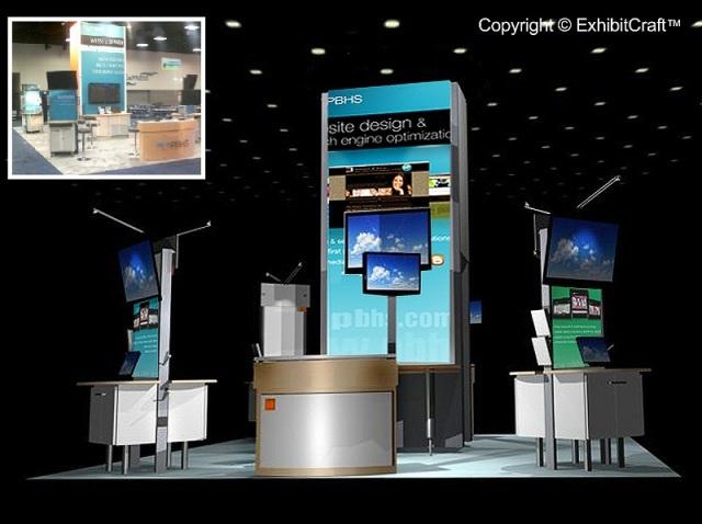 PBHS Custom Modular DIsplay - 20'x40' ConfigurationPBHS Custom Modular Display - 20'x40' Configuration